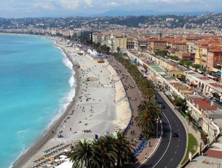 circuits touristiques cote d'azur en passant par Nice