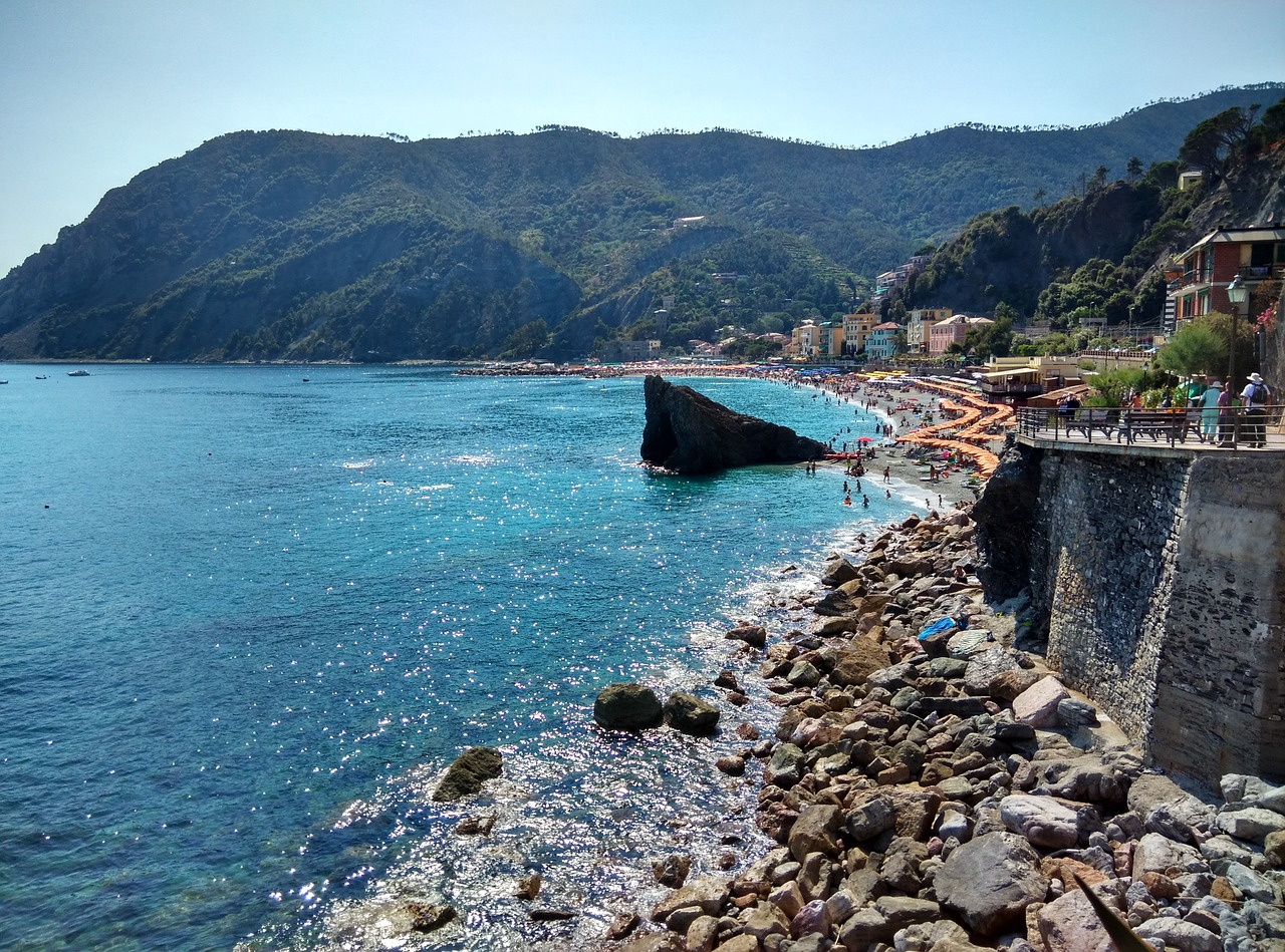plage de Cinque Terre Ligurie